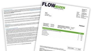 Boekingsbevestiging Flow Reizen